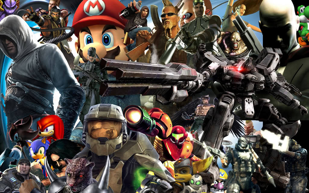 Change Is A Comin' (To The Blog) – WORDS ABOUT GAMES Video Game Characters